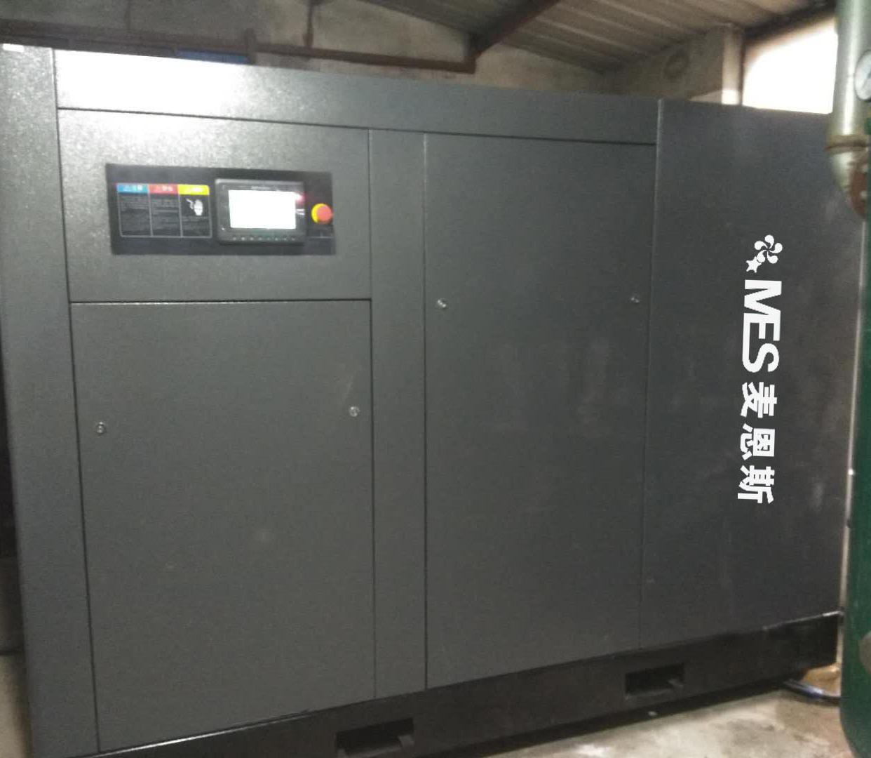 苏州太仓加弹机75KW低压空压机节能改造项目